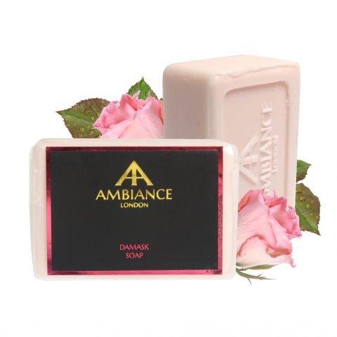 luxury soap - ancienne ambiance damask rose soap bar - damask rose soap