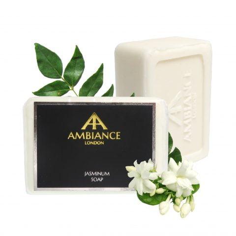 luxury soap - jasminum jasmine soap - luxury jasmine scented soap - ancienne ambiance soaps