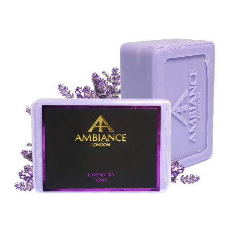 lavender soap - luxury soap - luxury lavender soap bar - ancienne ambiance soap