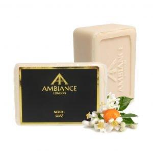 orange blossom scented soap - orange blossom soap - orange blossom savon de marseille - ancienne ambiance neroli soap