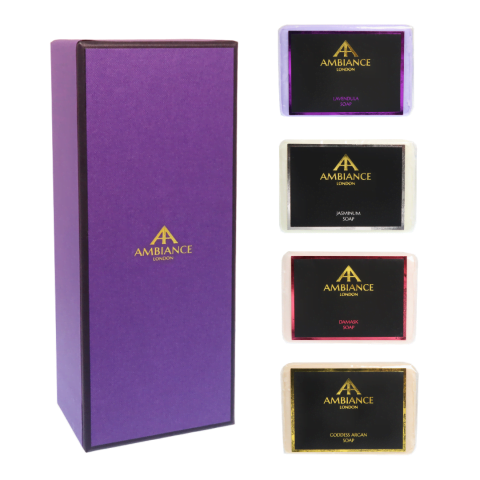 build your own soap set - bespoke soap set - luxury soap sets at ancienne ambiance