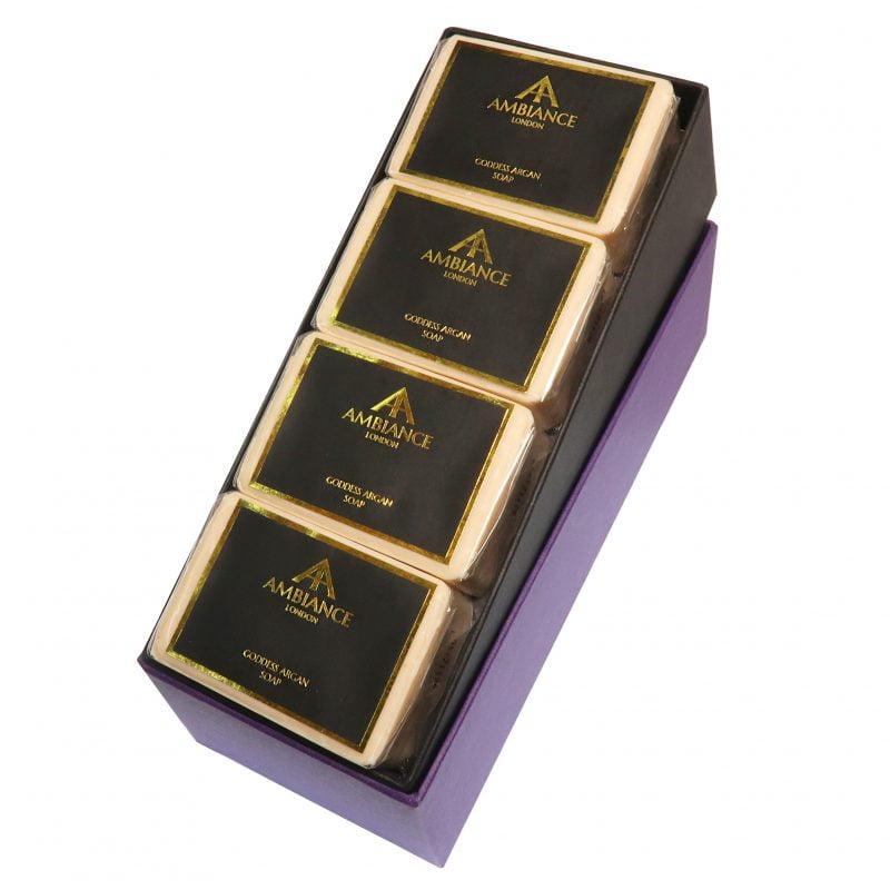 Luxury Argan Oil Soap Set - Goddess Argan Soap Set - Ancienne Ambiance Argan Soap