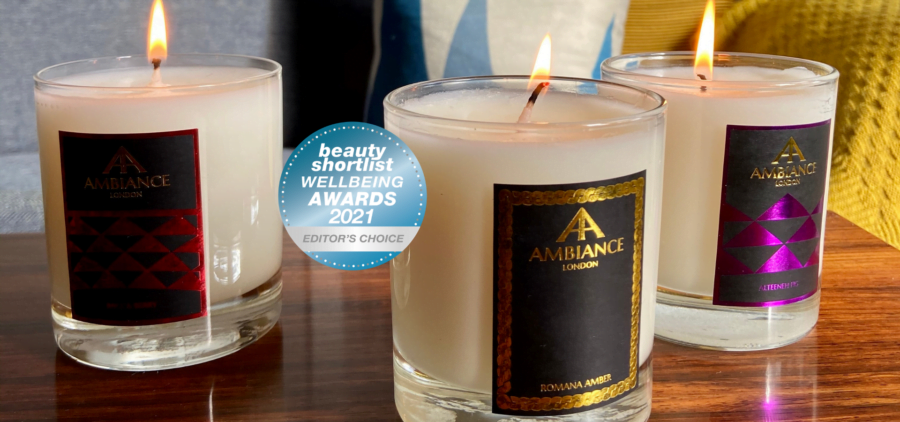 luxury candes - beauty shortlist awards - ancienne ambiance candles